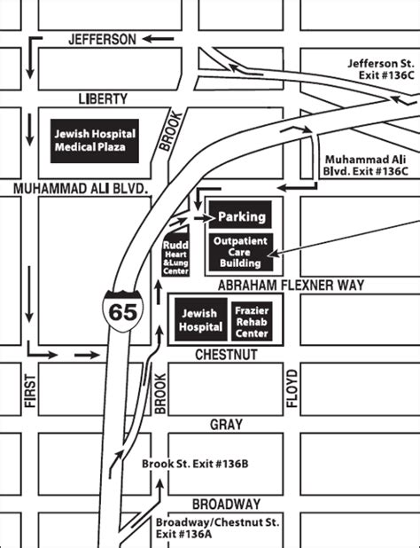 ky hospital map whas11 news for louisville kentucky kleinert kutz