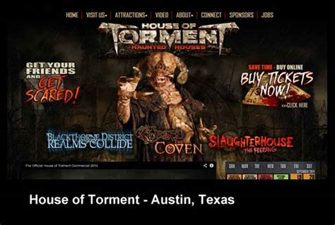 house of torment austin tx top 13 techiest haunted houses