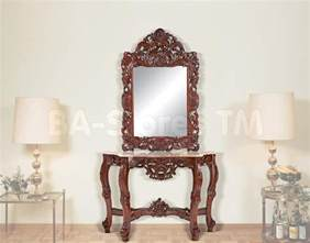 13 console table and mirror set carehouse info