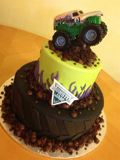 grave digger monster truck theme grave digger monster truck cake google search party