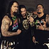 Roman Reigns And The Usos Football | 696 x 696 jpeg 68kB