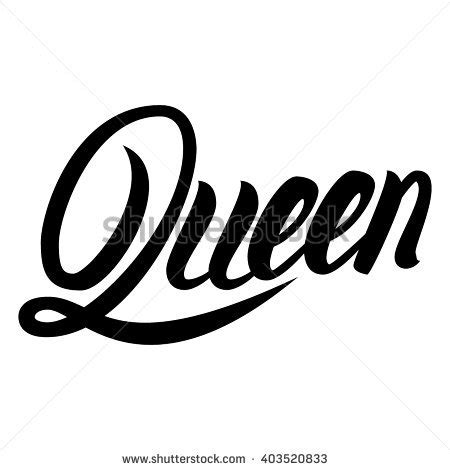 design font word beautiful font the word queen pictures to pin on pinterest