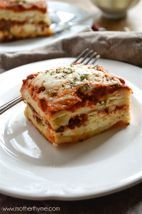 lasagna varieties