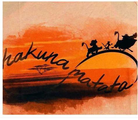 infinity tattoo hakuna matata hakuna matata the lion king i would love this as a