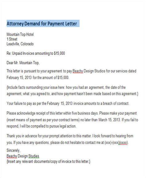 demand letter samples google docs