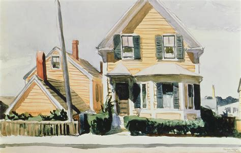 House Plans Online The Yellow House Painting By Edward Hopper