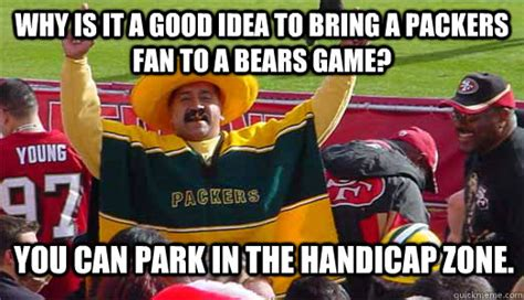 Packers Bears Memes - bears packers meme