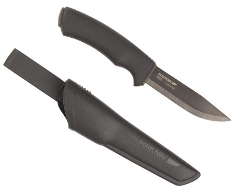 black knife mora bushcraft black knife heavy duty carbon steel