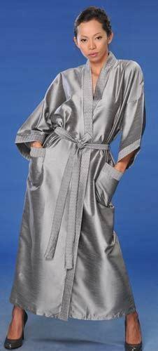 Kimono Robes :: Silver Japanese Kimono Robe