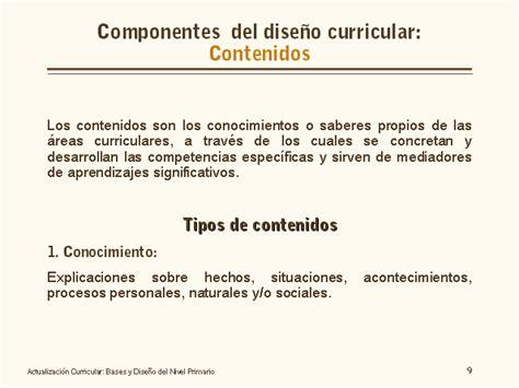 Diseño Curricular Dominicano Actual Actualizaci 243 N Curricular Bases Y Dise 241 O Nivel Primario Monografias