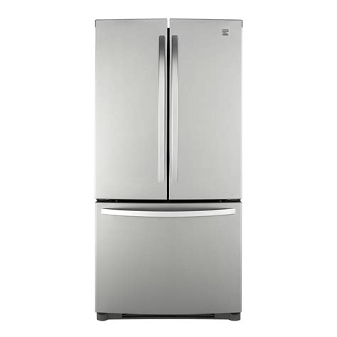 Kenmore Door Bottom Freezer by Kenmore 71303 22 7 Cu Ft Door Bottom Freezer