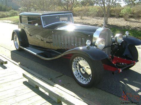 bugatti royale for sale bugatti royale kellner coupe replica rod classic