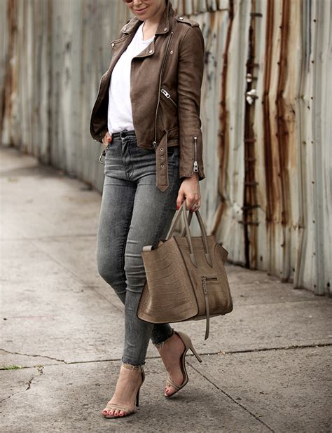 brown leather jacket www imgkid the image