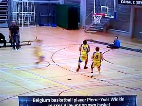 pierre yves winkin belgium basketball player pierre yves winkin misses 4