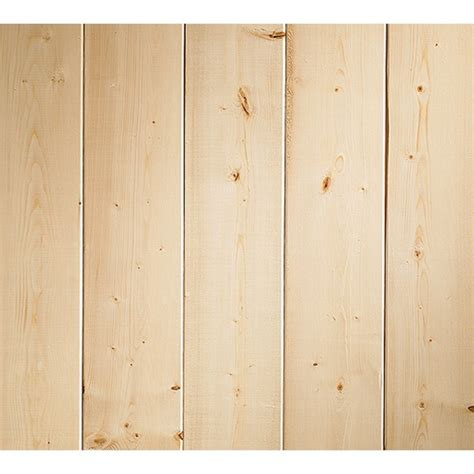 Pine Wainscoting Lowes Evertrue Pine V Grove Plank Paneling For My Home Misc