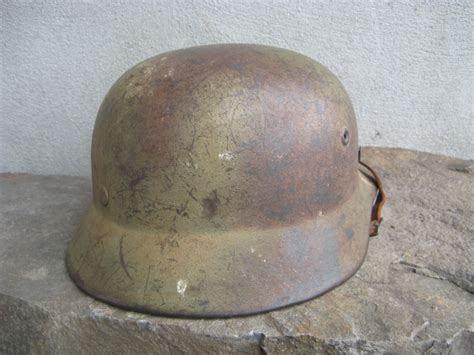 spray paint helmet se68 m40 lw sd spray camo painted helmet helmets of war