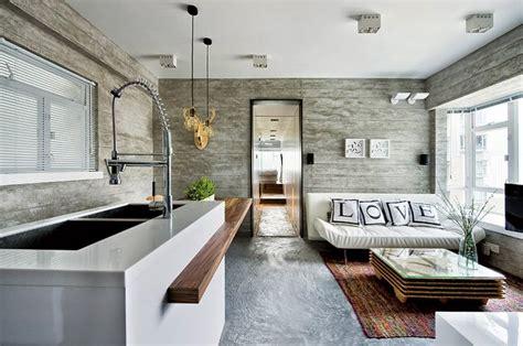 decoracion interior de casas modernas interior de una casa moderna en gris