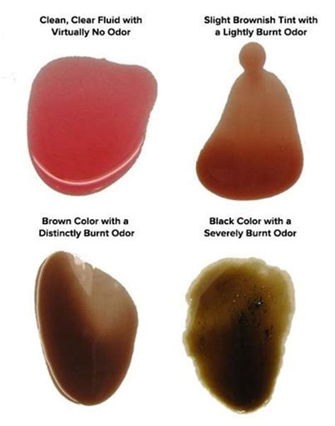 transmission fluid color chart 17 best images about auto repair protip croce s