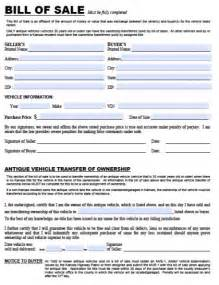 used car bill of sale template pdf bill of sale pdf real estate forms