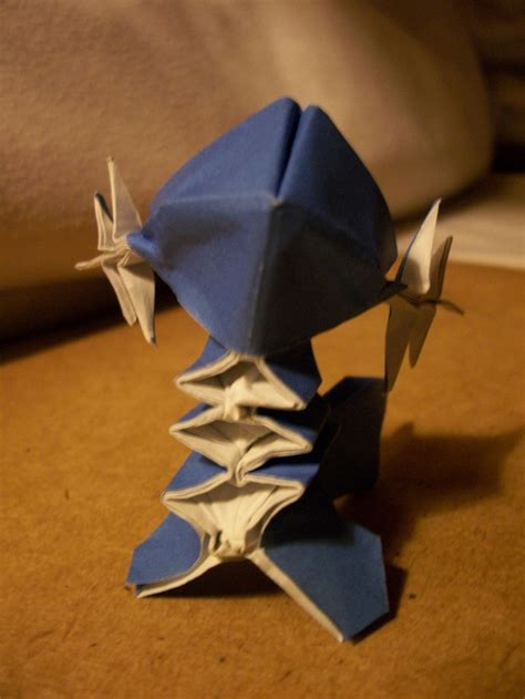 Pokã Mon Origami - origami from gold silver ruby sapphire