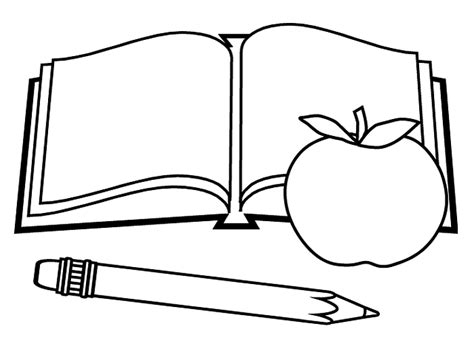 coloring book apple pencil omalov 225 nky škola i creative cz inspirace n 225 vody a