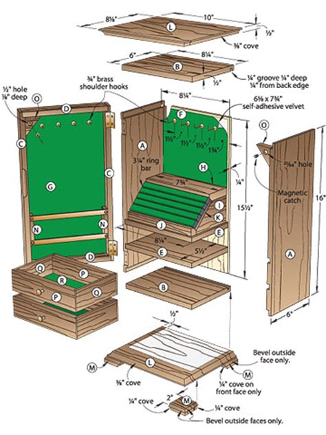 share plans    build  jewelry box  project