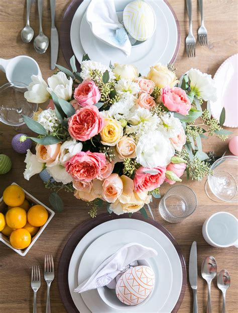 Easter Decorations And Centerpieces Crate And Barrel Easter Table Decorations Crate And Barrel