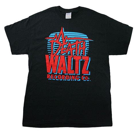 Waltz Records Waltz Recording Co Waltz Recording Co T Shirt Large Vinyl At Juno Records