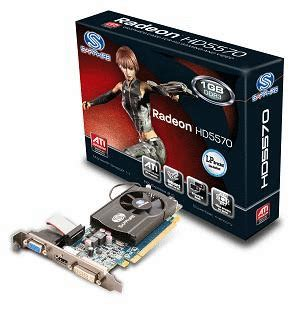 Vga Card Hd 5570 1gb Ddr3 128 Bit Sapphire Ati Radeon Hd 5570 1gb Ddr3 128 Bit Pci E Low