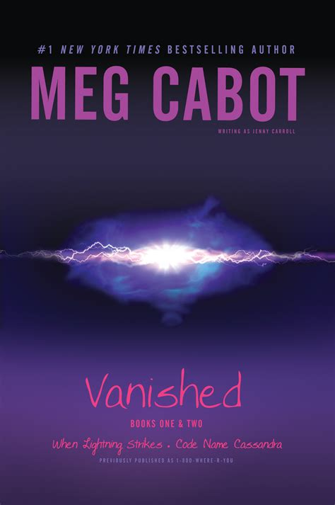 vanished a novel books vanished books one two book by meg cabot official