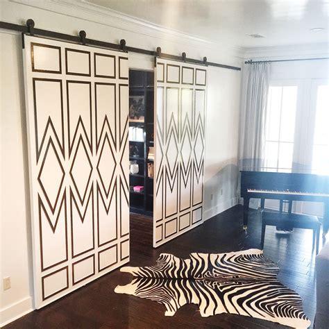 amazing custom woodwork takes  sliding doors