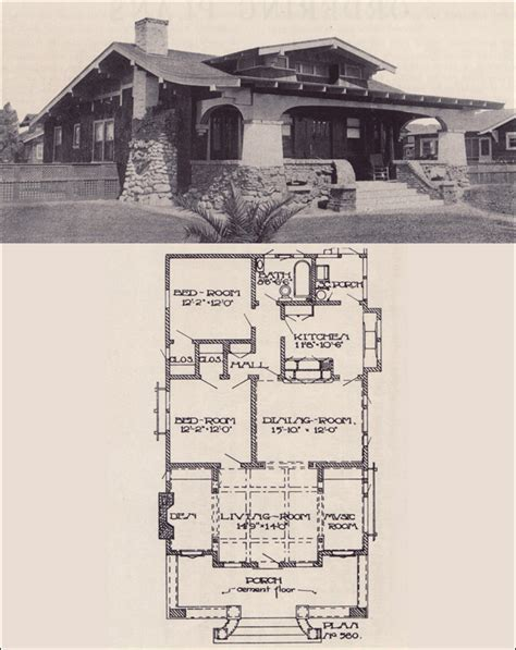 craftsman bungalow floor plans 1912 california craftsman bungalow los angeles