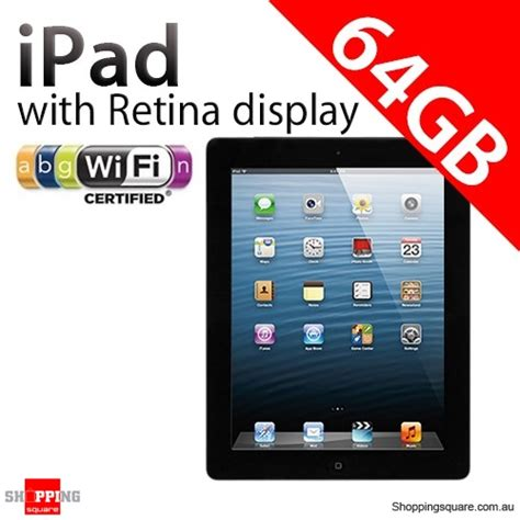 4 Retina 64gb apple with retina display 4th 64gb wifi black 4 shopping shopping