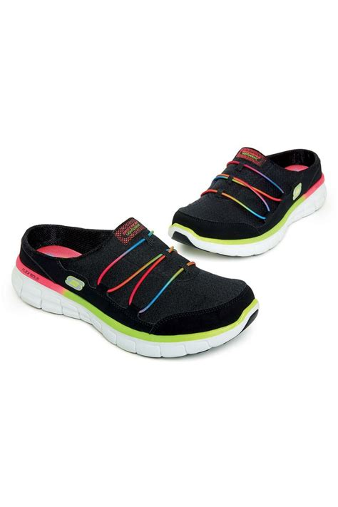 backless athletic shoes skechers backless tennis shoes beyond ordinary