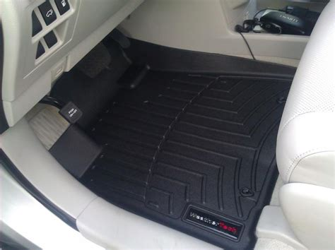 weathertech floor liners from factory store pics club lexus forums