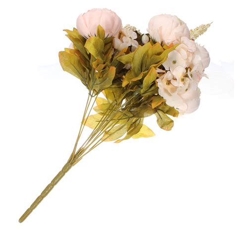 artificial peony bouquet artificial silk flowers home