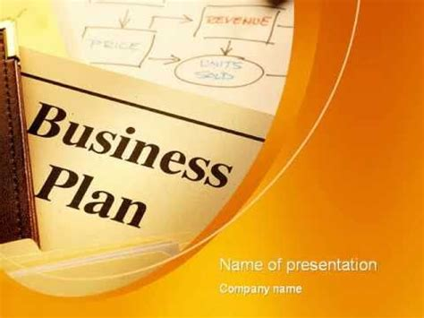 Business Plan Flowchart Powerpoint Template Youtube Business Plan Ppt Free