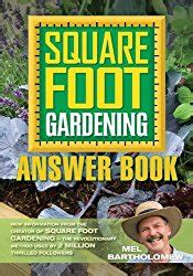 Square Foot Gardening Book by Mel Bartholomew Books Biography