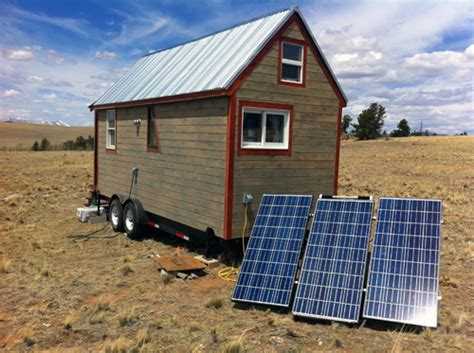 powering our tiny house the grid the solman portable