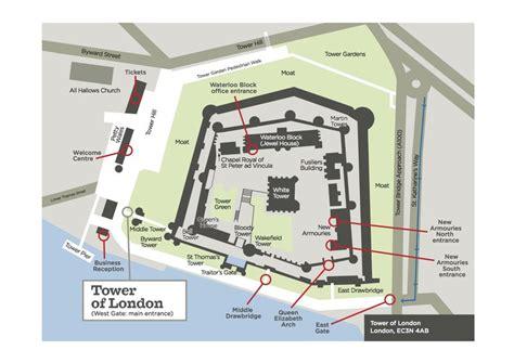Floor Plan Castle by Visiter La Tour De Londres Conseils Et Bons Plans