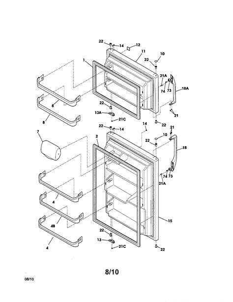 kenmore refrigerator parts diagram kenmore refrigerator parts model 25368882010 sears