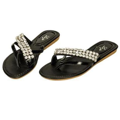 black bling sandals black rhinestone sandals crafty sandals