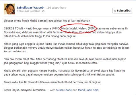 blogger umno anak sungai derhaka kerana fitnah blogger pro umno ini