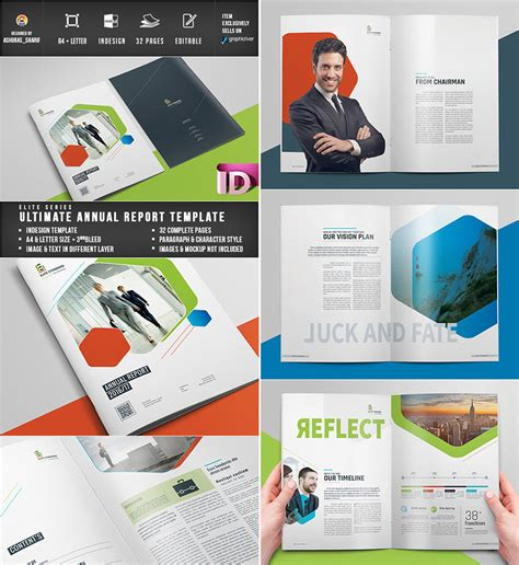 Annual Report Layout Template 15 annual report templates with awesome indesign layouts