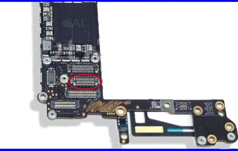 Konektor Connector Socket Touchscreen Iphone 6 6 Plus 55 iphone 6 lcd display screen fpc connector repair