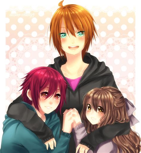 5 Anime Friends by Anime 3 Best Friends Www Imgkid The Image Kid Has It