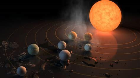 imagenes extrañas de otros planetas el descubrimiento de 7 planetas nuevos similares a la