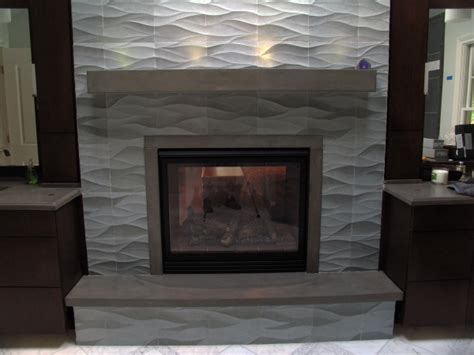 fireplace finishes two sided fireplace unique and decorative concrete