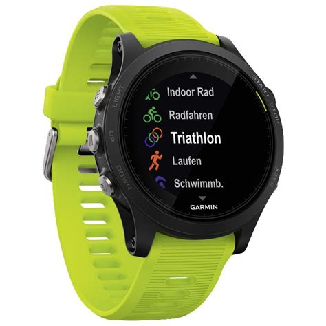 Garmin Forerunner 935 Yellow garmin forerunner 935 triathlon bundle gps smartwatch