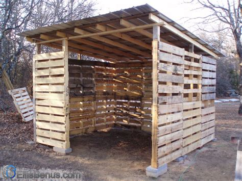 How To Build A Shed Out Of Pallets by How To Build A Shed Out Of Wood Pallets